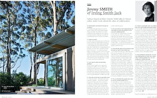 07.09.15 Houses New Zealand : Up Close With Jeremy Smith