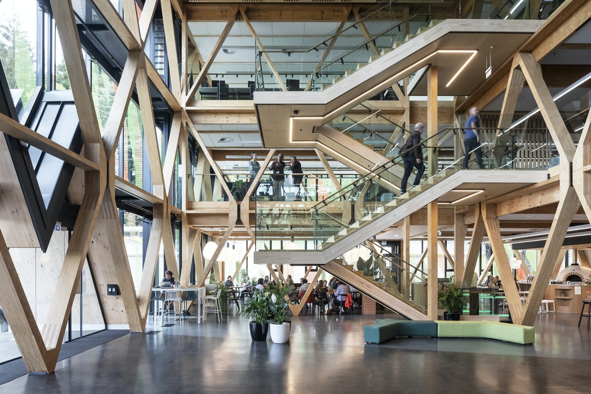 Te Whare Nui o Tuteata; SCION Timber Innovation Hub